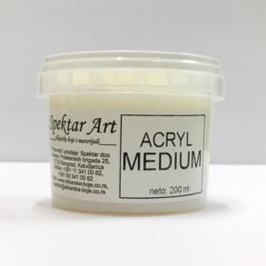 Acryl medium
